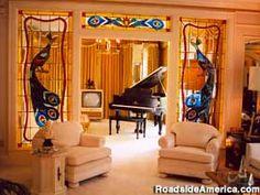 Graceland in Memphis, TN. Elvis Presley mansion.