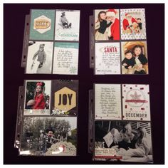 Project Life by Stampin' Up! samples - kit coming in October!