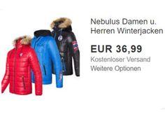 """Nebulus: Atmungsaktive Winterjacken für 36,99 Euro frei Haus https://www.discountfan.de/artikel/klamotten_&_schuhe/nebulus-atmungsaktive-winterjacken-fuer-36-99-euro-frei-haus.php Sie sind wasserabweisend, atmungsaktiv, wärmeisolierend und – preiswert, wenn auch nur für wenige Stunden: Die Nebulus-Winterjacken sind als """"Wow! des Tages"""" bei Ebay jetzt direkt vom Hersteller für 36,99 Euro frei Haus zu haben. Nebulus: Atmungsaktive Winterjacken für 36,99"""