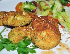 Cantinho Vegetariano: Falafel de Forno (vegana)
