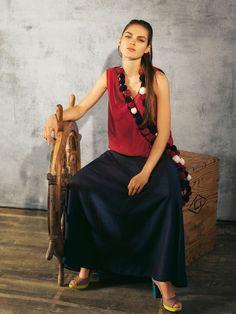Flared Godet Skirt 04/2011