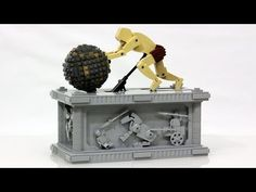 Watch LEGO Sisyphus Push His Boulder Till the End of Time | Mental Floss