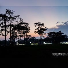 Sunset at Phukradueng Nation Park,Thailand