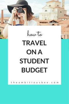 helpful websites for your #budgettravel experience #travel #college
