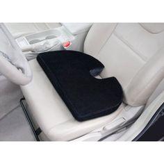 Auto Drive Ortho Wedge Cushion, Black - Walmart.com