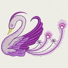 Crystal Bird 17 machine embroidery designs