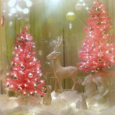 pink Christmas by phoebe reid, via Flickr