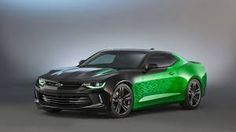 A lot has been going on at SEMA this week including a Chevy Krypton Camaro that Superman won't be able to drive. There's also two other Camaro concepts, Toyo. Camaro Zl1, Chevrolet Camaro, Camaro Auto, Chevrolet Colorado Z71, Corvette, Chevrolet Captiva, Camaro Concept, Concept Cars, General Motors