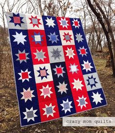crazy mom quilts: made in America, donated to Quilts of Valor