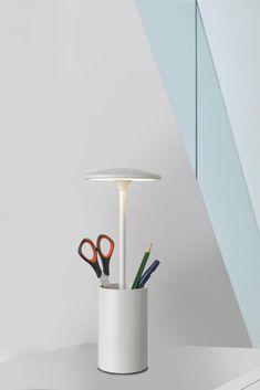 Kraftvoll Tischlampe Grau Led Ohne RüCkgabe Leuchten & Leuchtmittel