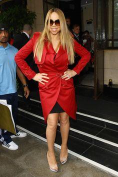 Mariah Carey Photos Photos - Mariah Carey seen arriving at the Dorchester Hotel at The Dorchester on June 25, 2012 in London, England. - Mariah Carey - Photocall