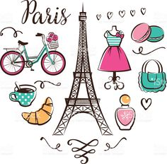 Paris royalty-free stock vector art