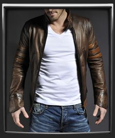 X-Men Origins: Wolverine inspired leather jacket from SoulRevolver.