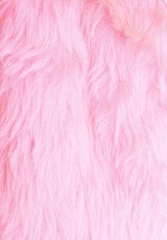 Fluffy pink wallpaper