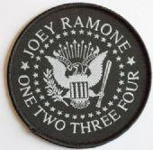 Ramones - 'Joey Ramone' Woven Patch