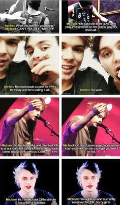 Imagine: Being Michael's celebrity crush (c)5SOS_Imagining