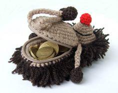 hedgehog coin purse heehee you can unzip it's butt :>