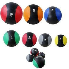 Medicine #balls weights #3-10kg gymnastic pilates yoga fitness boxing #exercise,  View more on the LINK: http://www.zeppy.io/product/gb/2/360947607049/