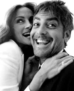 Julia Roberts and George Clooney.