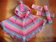 Ponchos em Crochê - Sugestões e Peças com Gráficos