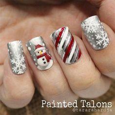 Creative Nail Art Design For Christmas