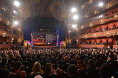 Vista panorámica de los #MartinFierro en el teatro Colon. telefe.com
