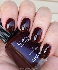 Chanel Rouge Noir - un basique à avoir!