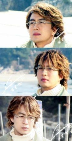 Bae Yong Jun as Joon Sang - Winter Sonata