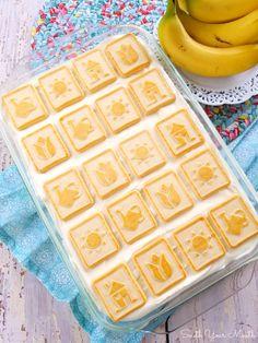 Paula Deen's Banana Pudding - Desserts - Banana Pudding Banana Pudding Desserts, Best Banana Pudding, Banana Recipes, Cookie Desserts, Easy Desserts, Delicious Desserts, Coconut Pudding, Cold Desserts, Holiday Desserts