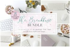 The Breakfast Bundle - bnd003 by L'Aura Studio on @creativemarket