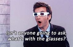 1k mygifs doctor who David Tennant Billie Piper Rose Tyler glasses ten Tenth Doctor 2x13 Doomsday series 2 dw: ten