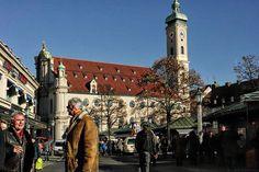Street Scene: Am Viktualienmarkt, Munich Photo by Volker Schenk -- National Geographic Your Shot