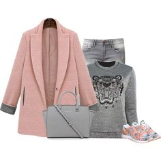 """Sporty chic"" by lenaick on Polyvore"