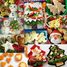 Bento o obento natalizi di Natale. Speciale Natale - www.Sottocoperta.net