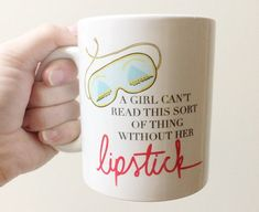 """This mug that shares Holly Golightly's wise words: 
