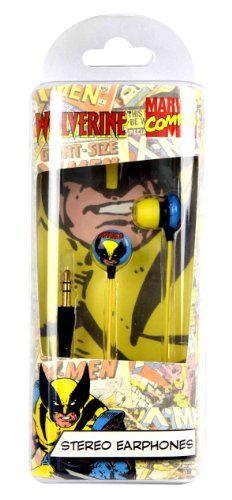 Marvel Comics' Wolverine In-Ear Stereo Headphones Marvel Comics,http://www.amazon.com/dp/B005G4SLUG/ref=cm_sw_r_pi_dp_jGy5sb10W3PXA673