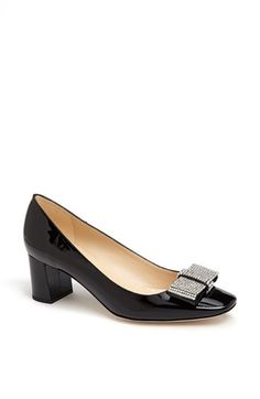 Kate Spade New York Womens Cindyp Black Patent - Sandals
