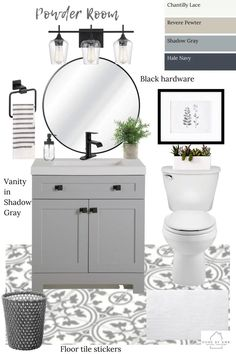 Bathroom Renos, Bathroom Renovations, Bathroom Interior, Budget Bathroom, Remodel Bathroom, Bathroom Small, Small Half Bathrooms, Half Bathroom Decor, Washroom