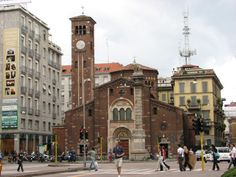 One of the most important church in Milan, Italy, restored many times, it is an exquisite example of Romanesque architecture in Lombardy. The importance that the church had in the past made possible for its parish priest to get an honor's seat in religious ceremonies. The great Italian novelist and poet Alexander Manzoni was baptized here.