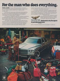 Buick LeSabre Car Ad Man Who Does Everything Photo by AdVintageCom