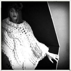 PELT Julia Ramsey Knitwear Photographer Nicole Anne Robbins . Model Milana . Make Up Risa Robbins-Moloney