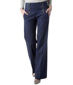 -50% #Pantalon à pont #Promod, toujours aussi chic ! 19,97€