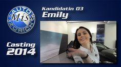 Miss Auto Zürich 2014 - 03 Emily - Die Kandidatinnen nach dem Casting im Interview! Misswahl auf der Auto Zürich Car Show.  Mehr Infos: http://motorsandgirls.com/2014/10/13/miss-auto-zurich-2014-alle-girls-im-interview/