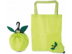 Bolsa plegable con forma de manzana