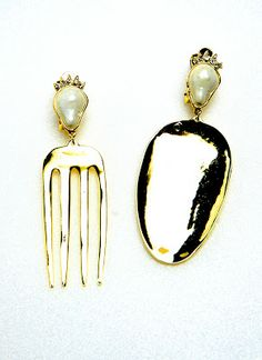 77th: Fork Spoon Earrings