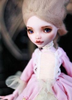 OOAK Monster High Draculaura Glass Eyes Repaint Custom Doll   eBay