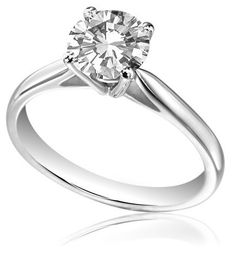 Diamond 0.80ct FLAWLESS Solitaire set in platinum 0101047