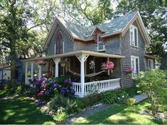 cottage victorian with gingerbread trim