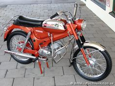 1973 Puch Colorado, VZ 50/3 Small Motorcycles, Vintage Motorcycles, Scooters, Custom Mini Bike, Mini Motorbike, 50cc Moped, Colorado, Classic Bikes, Vintage Bikes