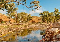 Or cool down in a refreshing rocky creek. | 31 Reasons Australia Is So Much More Than Just Its Beaches